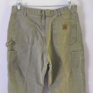 Other - Carhartt Tan work pants